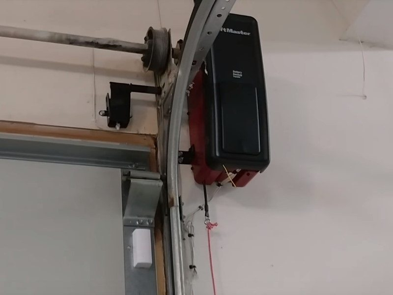 Simple Garage Door Opener Wiring Diagram