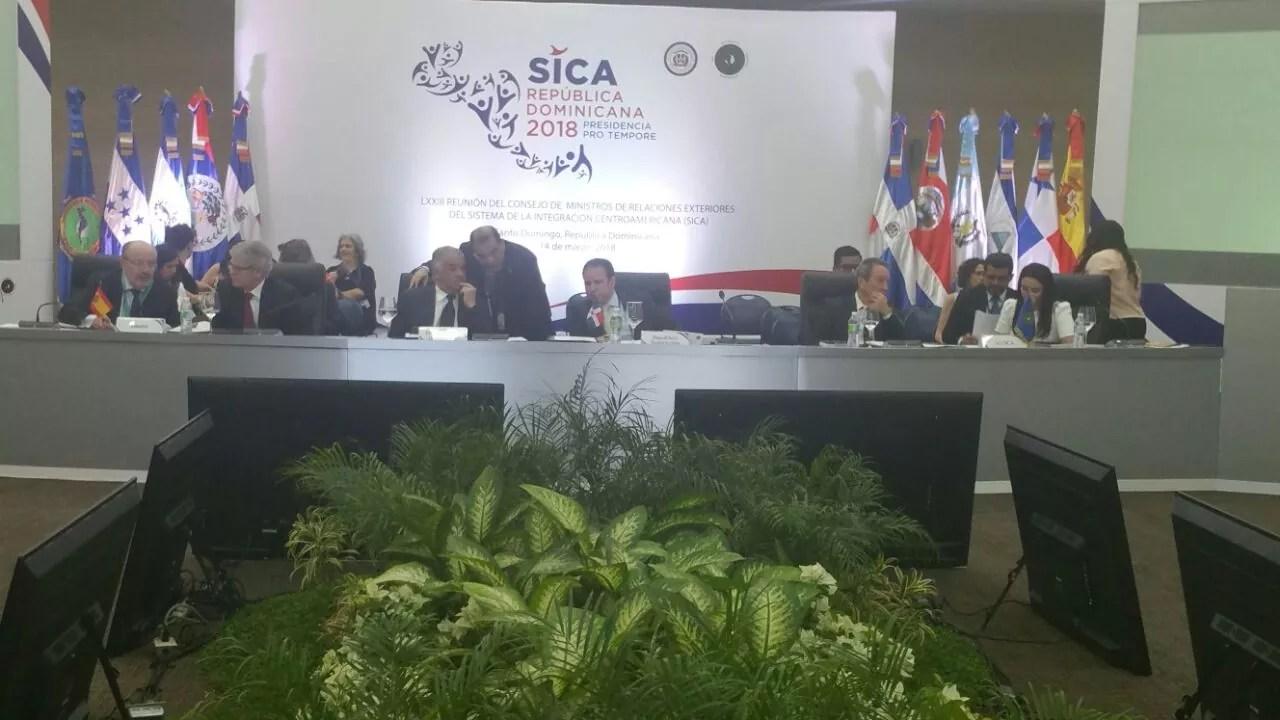 Cancilleres de Centroamérica y España destacan importancia de reducir déficit comercial