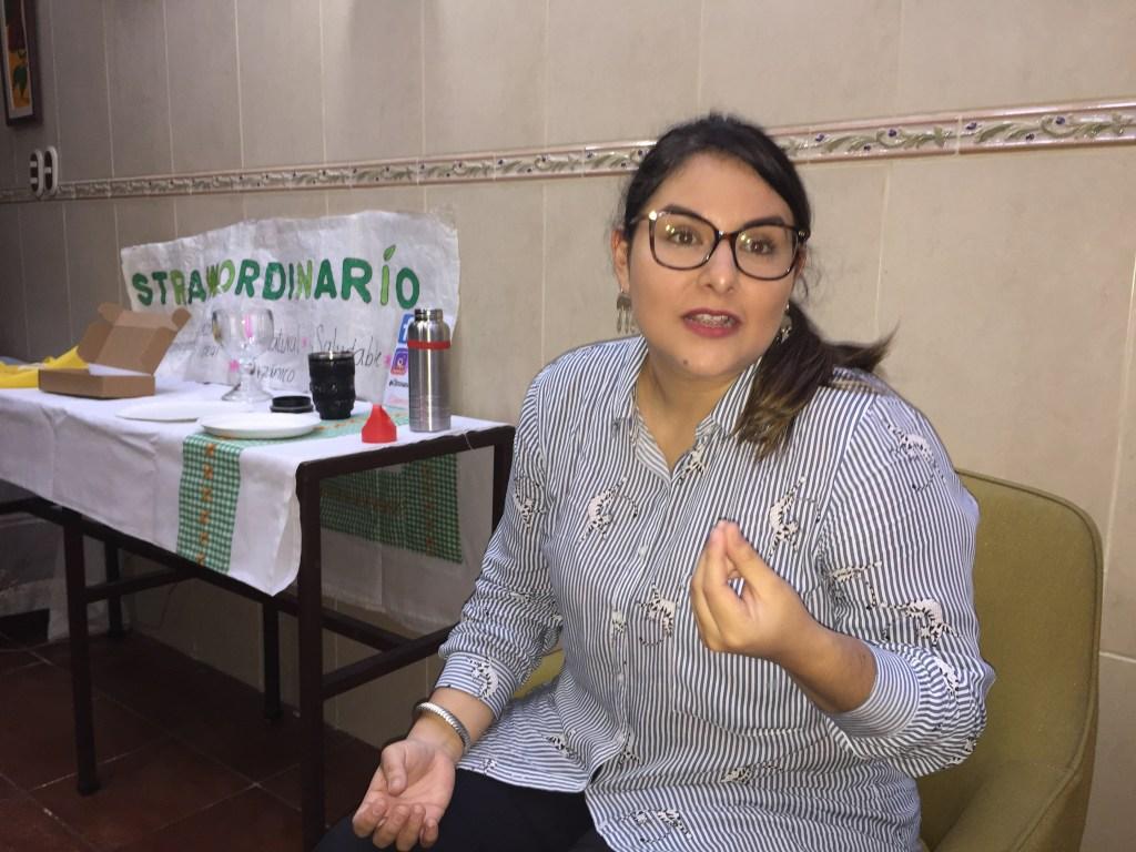 Rocío Palacios, creadora de Strawordinario.