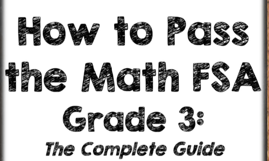 3rd Grade Math Test Prep! Test Style Questions (1 on 1