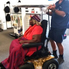X8 Wheelchair Red Bedroom Chair 4wd Wheel For Uluru Elder Nelly Patterson Chuffed Non We Took A Test Drive Of New Magic Mobility Extreme When She Was Here On The East Coast In February And Received Full Quote
