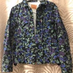 9c386cfd67c0 Supreme Supreme Levi Floral Denim Jacket Size M Denim Jackets For
