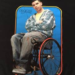 Wheelchair Drake Chair Covers And Linens Indianapolis Vintage Degrassi Drizzy Jimmy T Shirt Medium Size M Us Eu 48