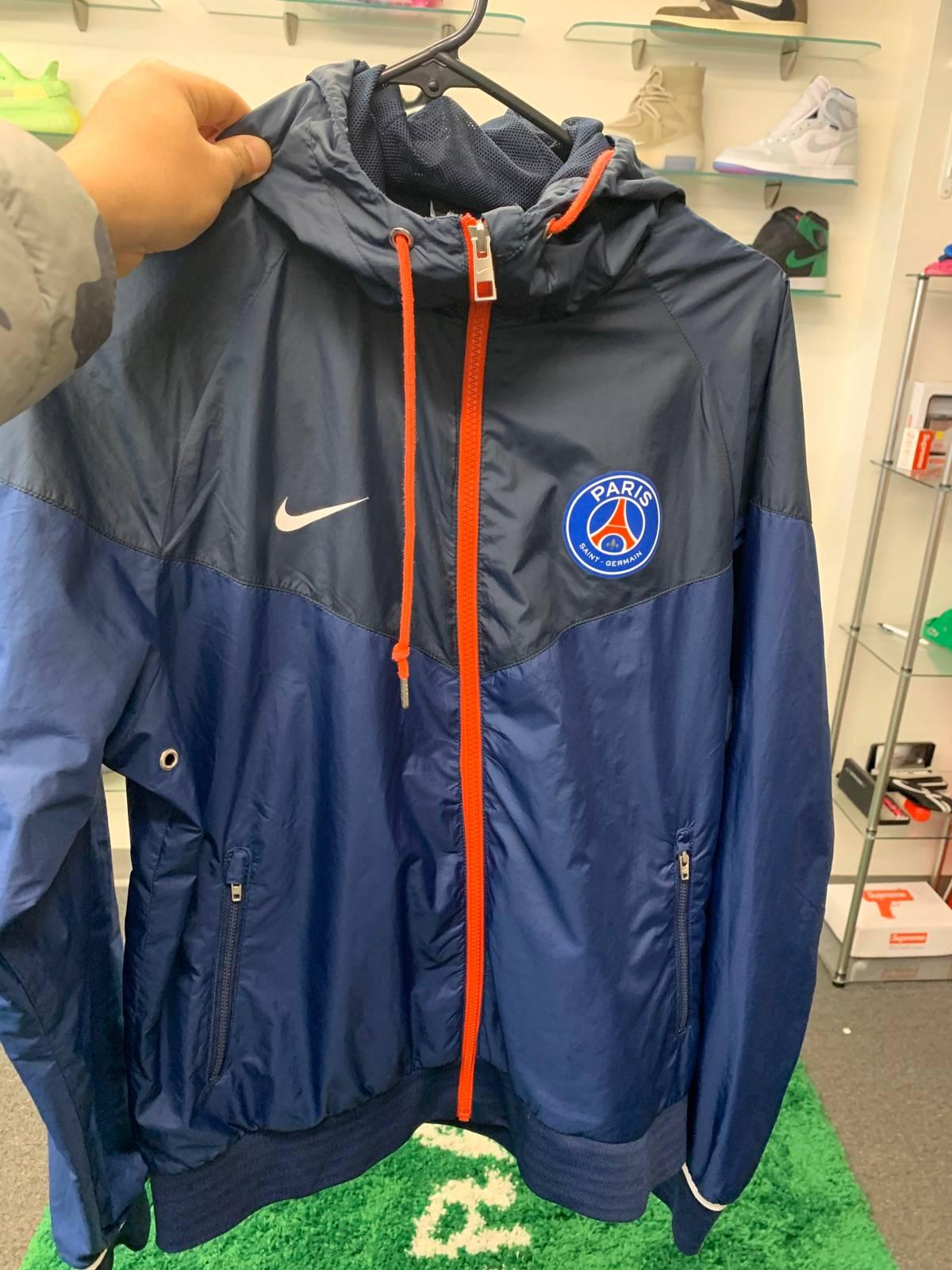 nike psg training jacket size m 80