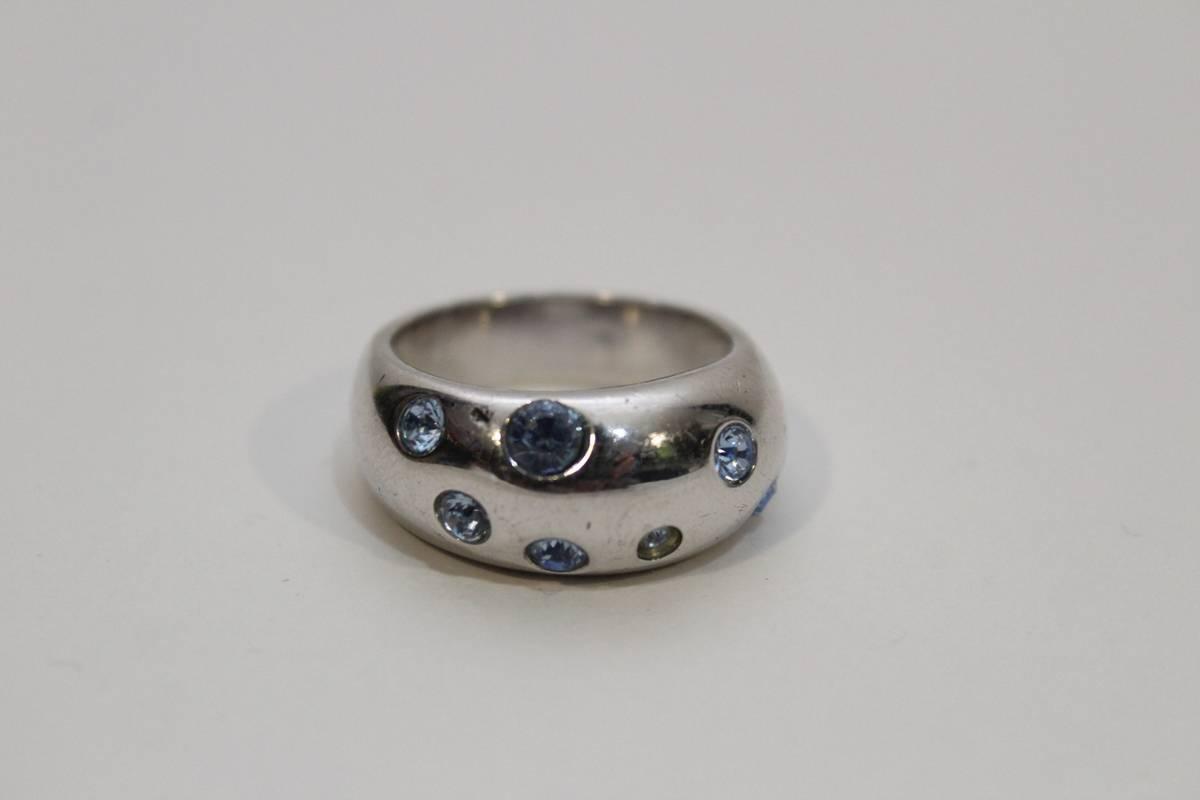 Saint Laurent Paris Rare Vintage Yves Saint Lauren Ring Silver Made In France | Grailed