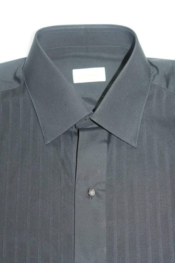 Brioni 515 Tuxedo Shirt 16.5 Nwt Size L - Shirts Button