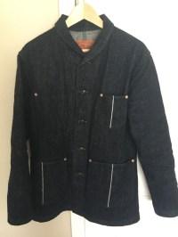 Studio D'Artisan D4401 Shawl Collar Denim Jacket Size l ...