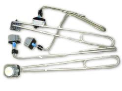 shaped single-phase vat heaters