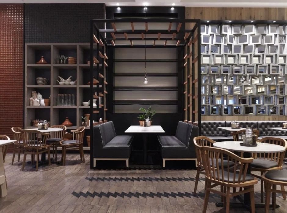 ديكورات المطاعم والفنادق مع جوجان