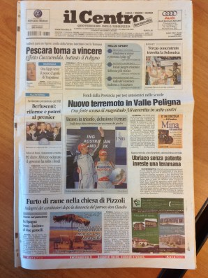Il Centro, ed. L'Aquila, 30-03-2004, 1