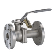 2-piece Type AF90D / DN15-DN100 long pattern (Flanged Ball Valves) Image