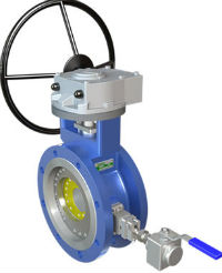 Vridspjäll Block Bleed (DBB1 Triple Offset Butterfly Valve) Image