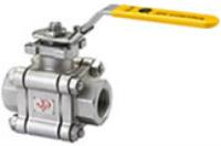 "3-piece Type JBSM / DN15-DN50 / 1/2""- 2"" (metal seated ball valve) Image"