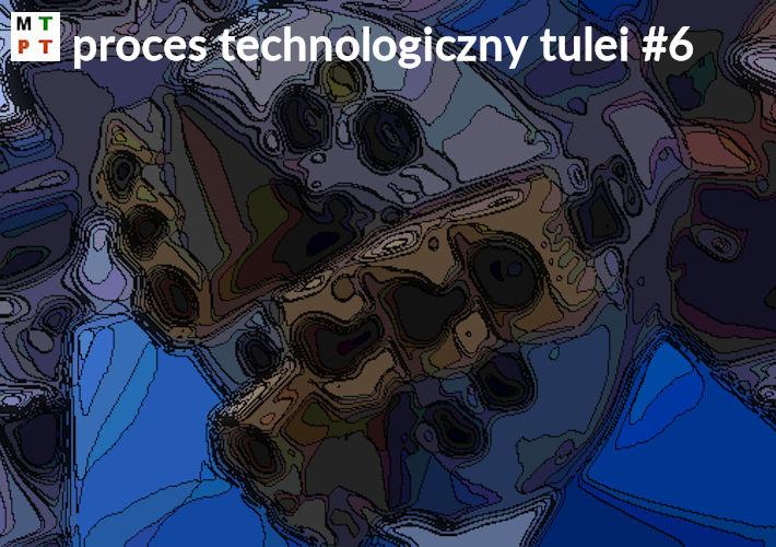 Tuleja - proces technologiczny wielowariantowy