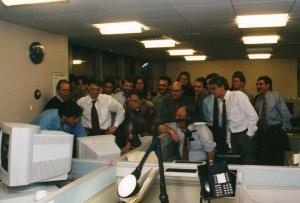 Photo of New York Times web team