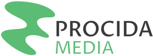 Logo for Procida Media, an unusual communications agency in New Jersey