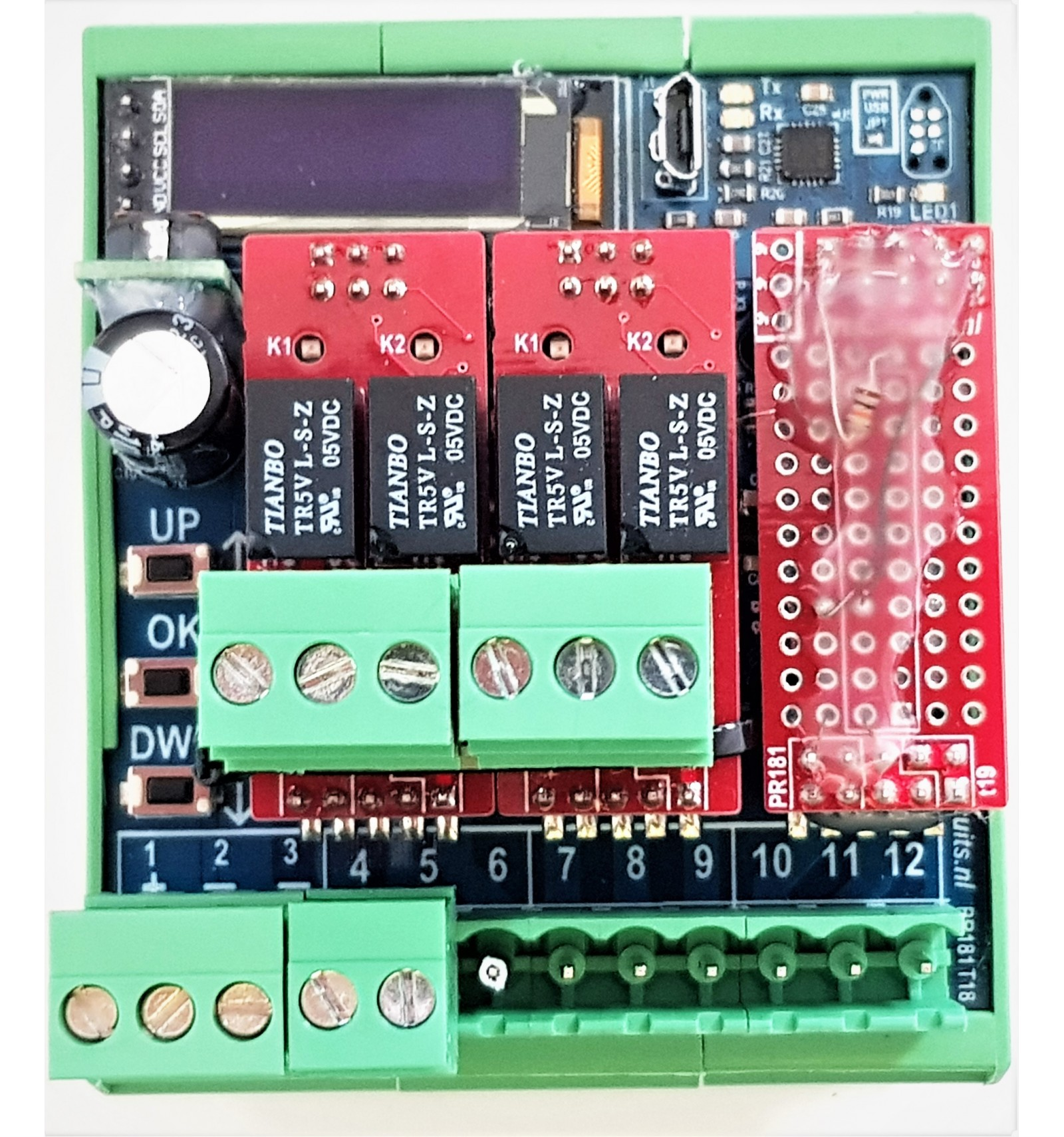 Analog Signal Input 510v Pwm Signal Output Dimming Signal Converter