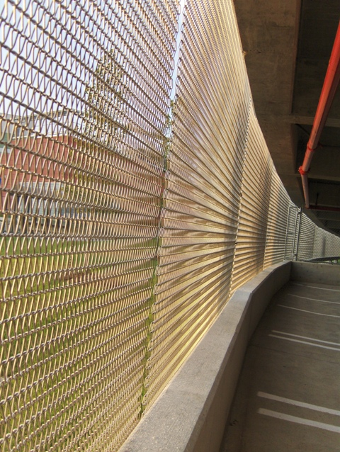 Suspended Wall Mesh  Fall Protection Security Shading