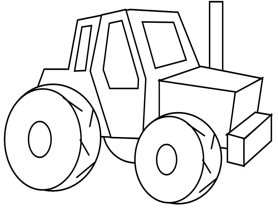 25 Best Tractor Coloring Pages To Print