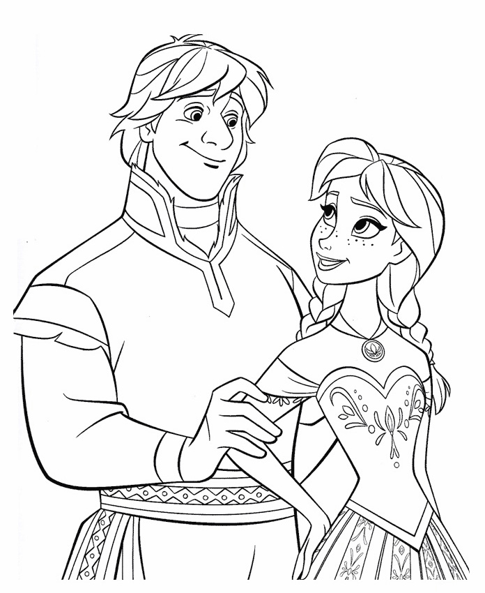 Disney Frozen Coloring Pages To Download
