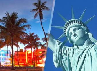 Miami y New York