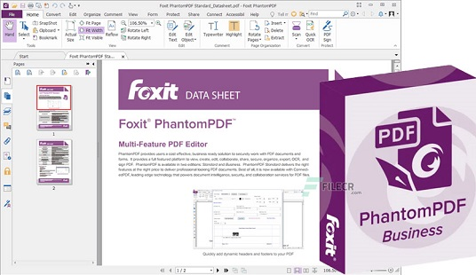 Foxit PhantomPDF Business 10.1.3 Crack With Key Free Download