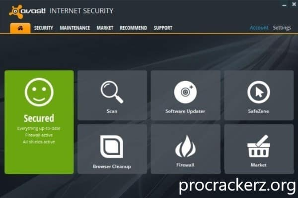 Avast Internet Security 2021 Cracked