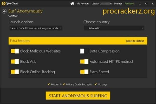 CyberGhost VPN Cracked 2021
