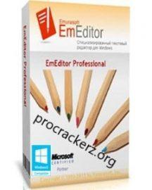 EmEditor Professional 2021 Crack