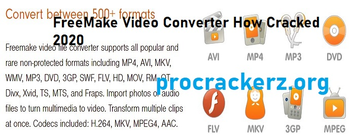 Freemake Video Converter Cracked 4.1.12.15