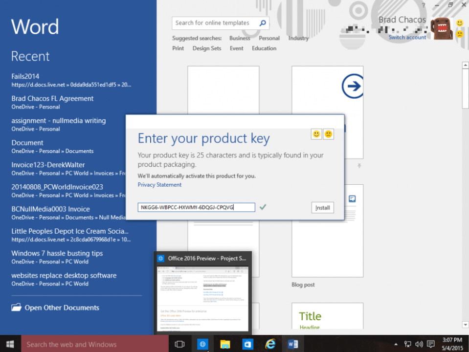 Microsoft Office 365 Product Key & Crack Download Free [Updated]