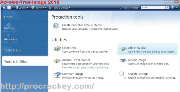 Acronis True Image 2018 Crack & Serial Keys Download Win/Mac Free