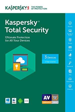 Kaspersky Total Security 2018 Crack & Serial Keys Download [Win + Mac]