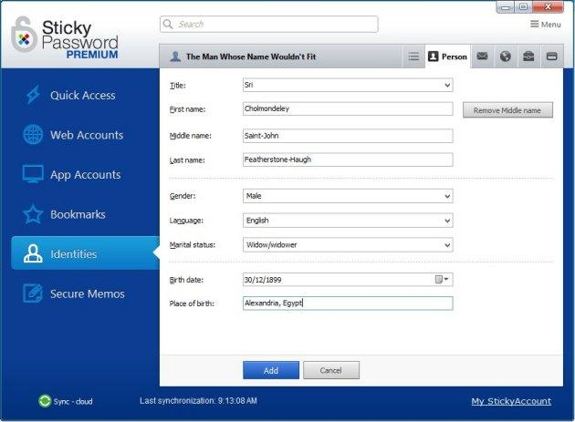 Sticky Password 8.1.1 Crack & Serial Keys Download Free Version