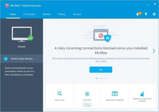 McAfee Total Protection 2018 Crack & License Keys Free Download