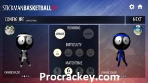 Stickman Basketball MOD APK Crack