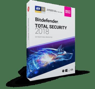 Bitdefender Total Security 2018 Crack License Key lifetime