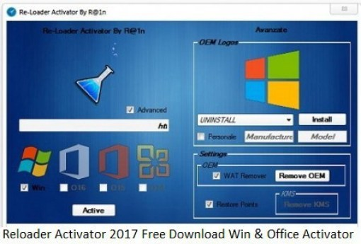 Reloader Activator 3.0 For Windows + Office Activation