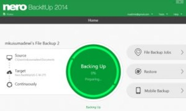 Nero BackItUp 2018 Crack Serial Number Free Download {Latest}