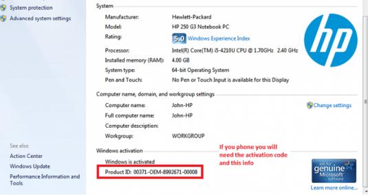 Windows 7 Ultimate Product Key, Serial Key for 32bit/64bit