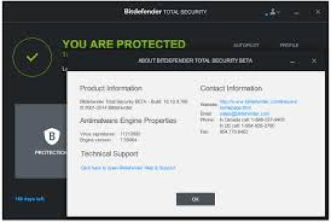 Bitdefender Total Security 2020 Crack + License Key Free Download