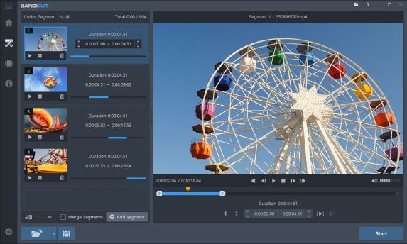 Bandicut Crackis an all-in-one video cutter and joiner for Windows and Mac users. It helps users trim certain parts of a video.