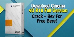 Cinema 4D r18 crack Full Serial Key
