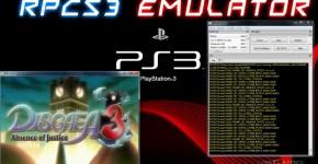 PCSX3 Playstation 3 Emulator 2017