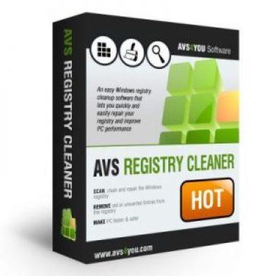 AVS Registry Cleaner 2.3 Crack