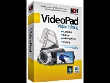 VideoPad Video Editor 5.12 Crack Mac