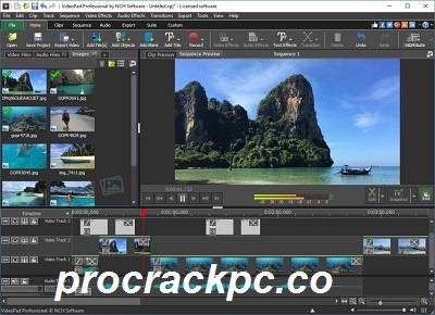 VideoPad Video Editor 10.35 Crack + Serial Key Full Download 2021