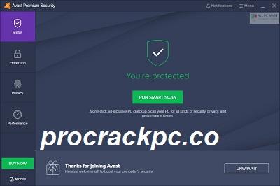 Avast Premium Security 21.4.6 Crack + Activation Key Full Download 2021