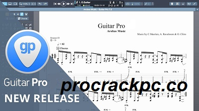 Guitar Pro 7.5.5 Crack + License Key Full Download 2021