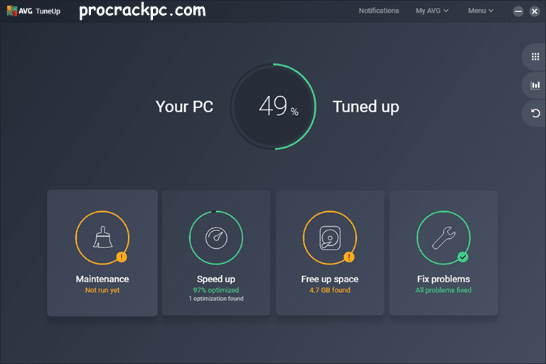 AVG PC TuneUp Product Key Full Torrent